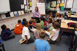 My son's 2nd grade class